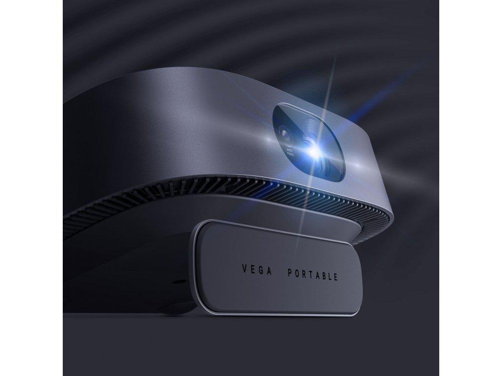 Anker Nebula Vega 1080p Native resolution Portable Projector Wi-Fi, 500 ANSI Lumens, Autofocus, HDR10, Dolby Audio - D2121G11
