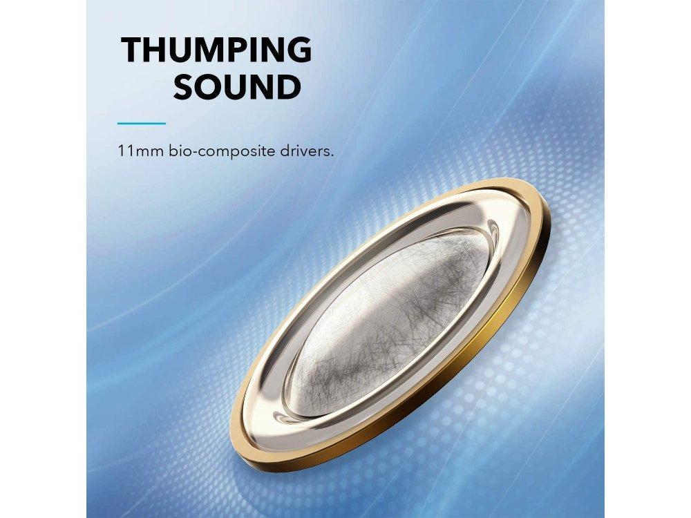 Anker Soundcore Life Dot 2 NC Bluetooth ακουστικά TWS με Hybrid Active noise cancellation - A3931G11, Μαύρα