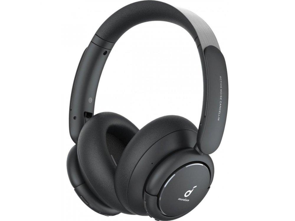 Anker Soundcore Life Tune Bluetooth ακουστικά με Hybrid Active noise cancellation & Hi-Res Sound - A3029ZA1, Μαύρα