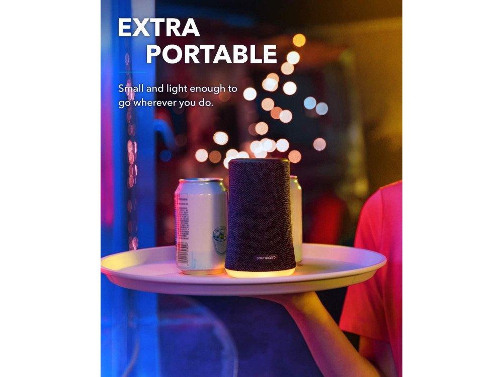 Anker Soundcore Flare Mini, Portable Waterproof Bluetooth Speaker 10W - A3161011, Black