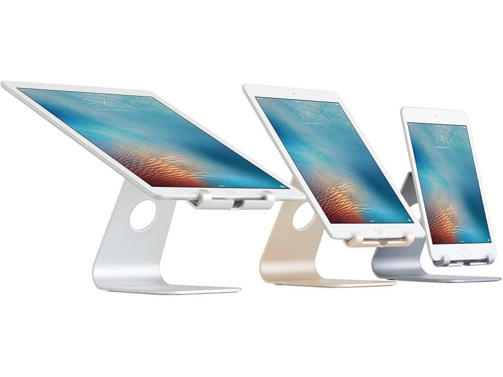 "Rain Design mStand Tablet Plus Βάση/Stand Tablet/iPad Ρυθμιζόμενη για συσκευές έως 13"", Space Grey - 10055"