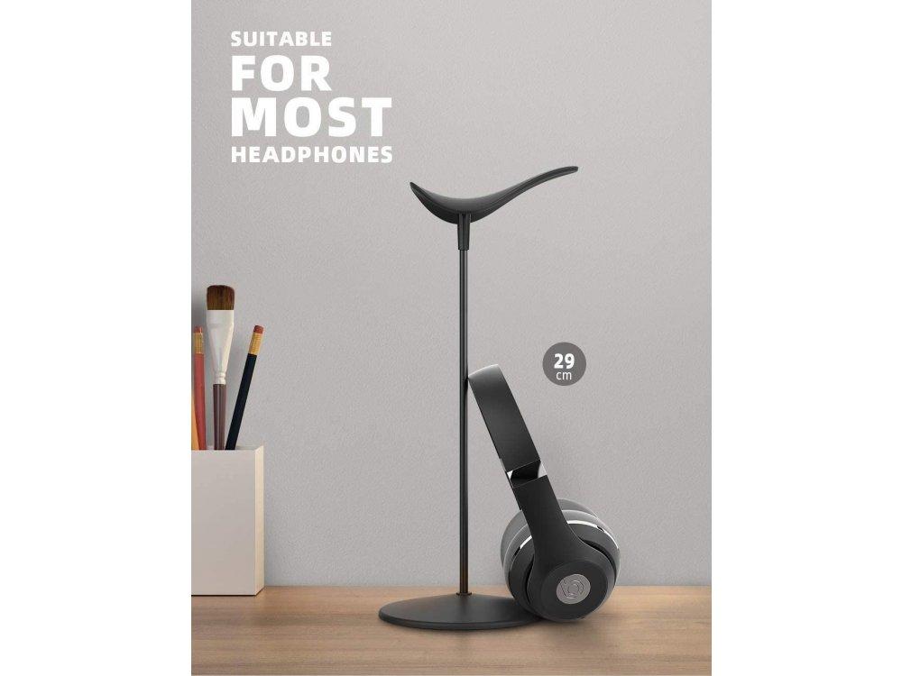 Lamicall H1 Headphone Βάση / Stand & Hanger για Ακουστικά & Headset, Μαύρη