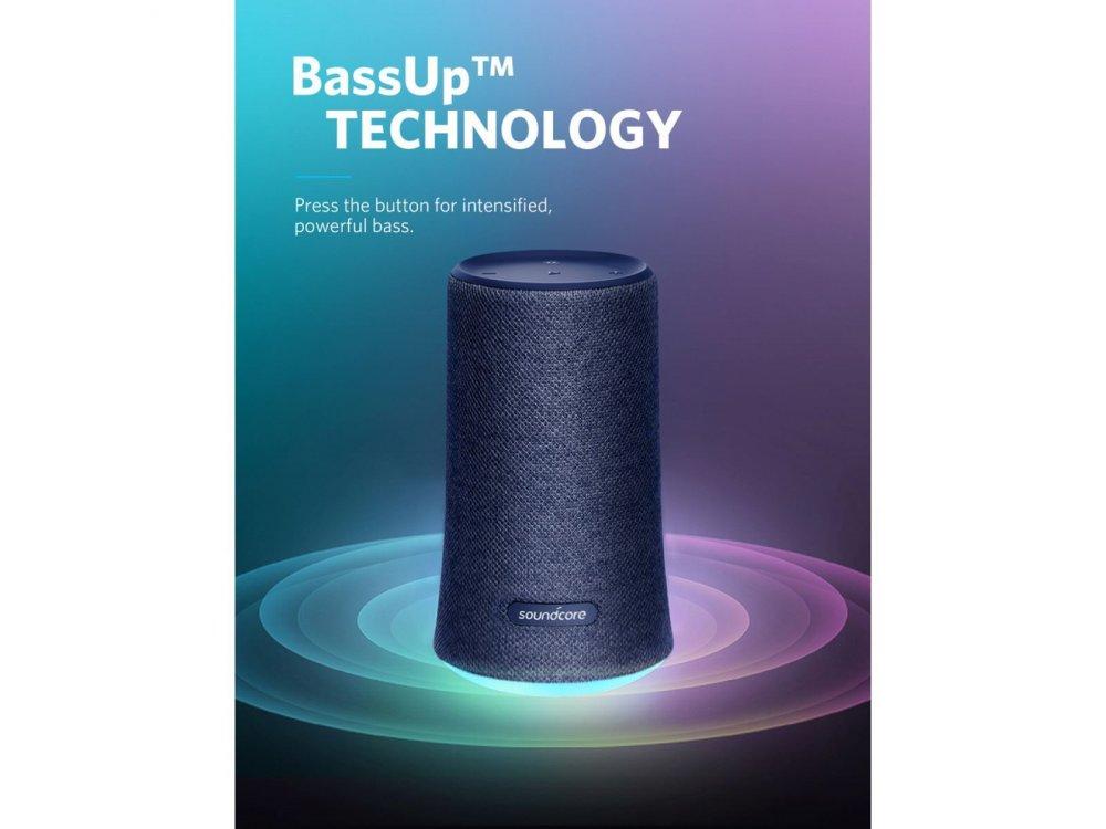 Anker Soundcore Flare 2, Φορητό Αδιάβροχο Bluetooth 5.0 Ηχείο 20W - A3165G31, Μπλε