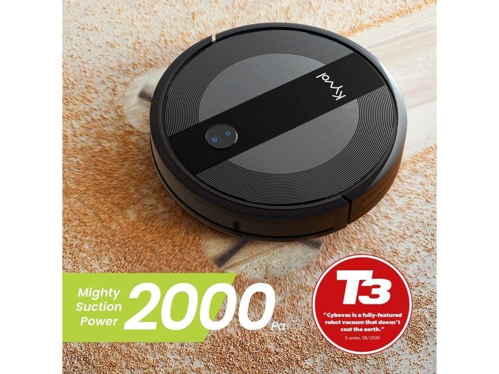 Kyvol Cybovac E20 Smart Robot Vacuum Cleaner 2000Pa with WiFi, Super-Slim & Smart Navigation System