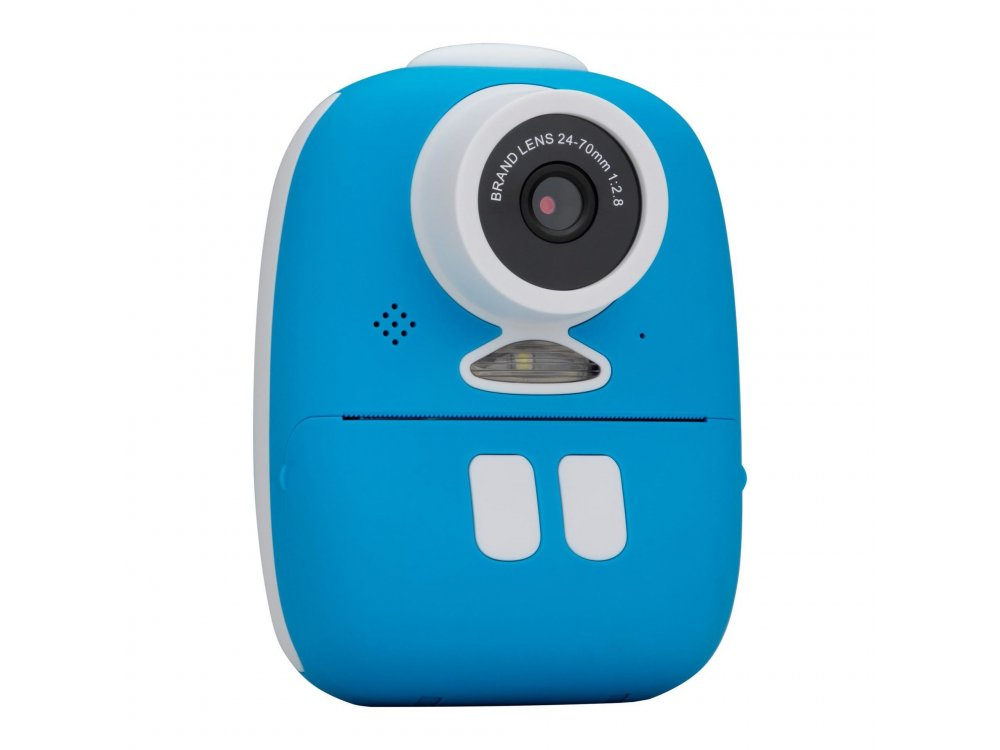 Redleaf BOB Camera with Instant printer, Instant Camera with Printer & Full HD Video, Blue