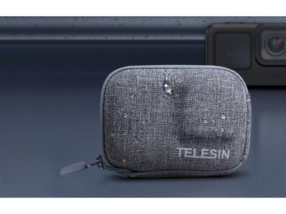 Telesin Organizer / Travel Case for Action Camera GoPro Hero 9 - GP-CPB-902, Gray