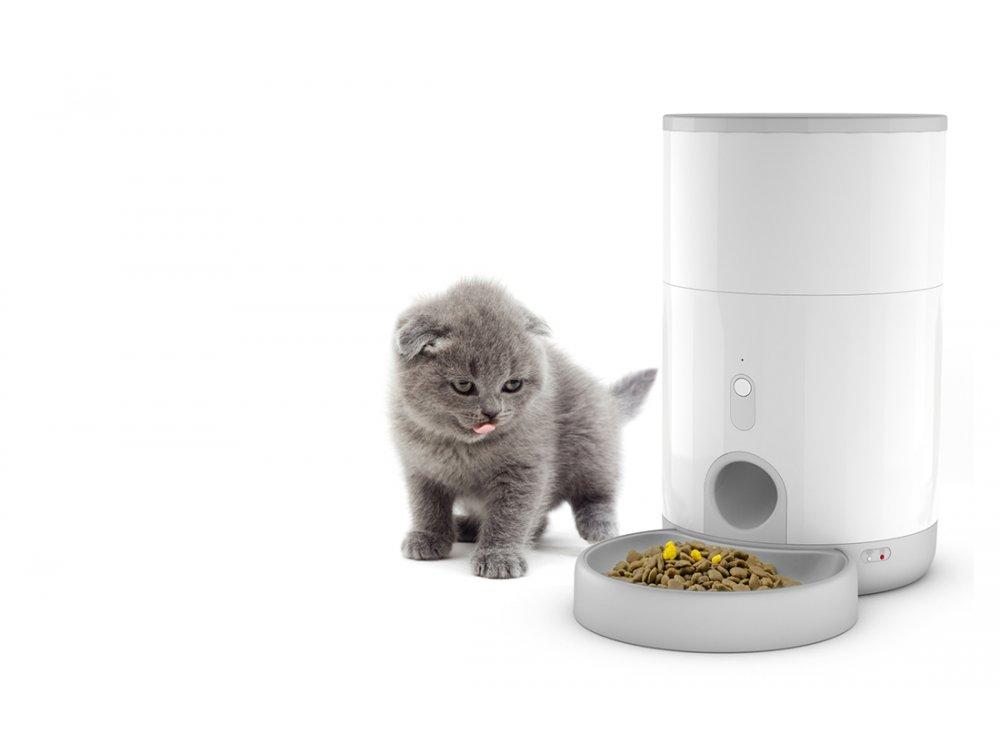 Petoneer Nutri Mini Smart Food Dispenser, Έξυπνη Ταΐστρα Κατοικιδίου 2.6L με APP - FDW040