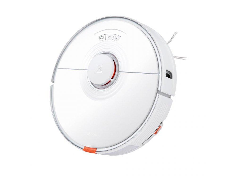 Roborock S7 - Smart Robot Vacuum / Mopping Cleaner με Λειτουργία Σφουγγαρίσματος Sonic, 2500Pa & Lidar Navigation, Λευκή