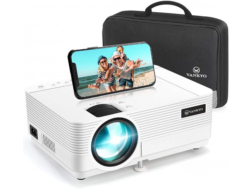 VANKYO Leisure 470 Portable Mini Projector HD 1080p, WiFi, HD 720p Native resolution, 4000 Lumens, 3500:1 Contrast