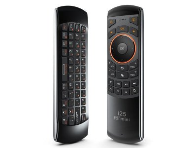 Rii i25A Wireless Keyboard with Air Mouse with Voice Control
