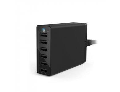 Anker PowerPort 6 60W 6-Port USB Charging Hub with PowerIQ