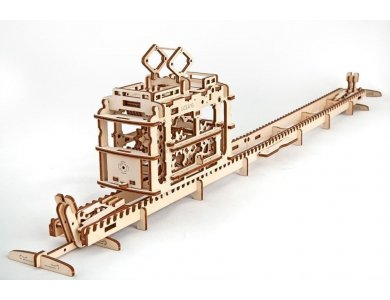 Ugears Tram with Trails