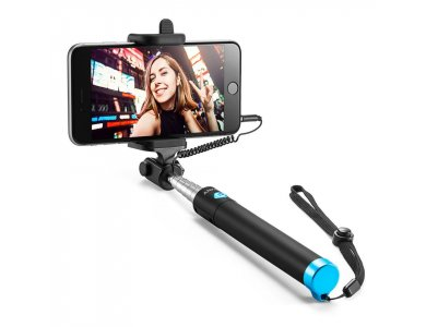 Anker Selfie Stick, Extendable Wired Handheld Monopod