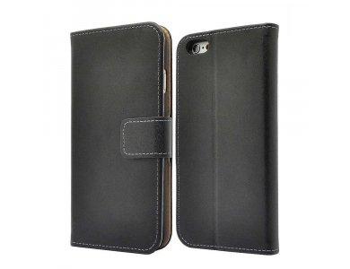 Θήκη iPhone X wallet, γνήσιο δέρμα, kickstand με θήκες για κάρτες