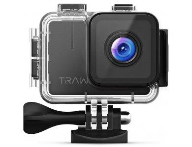 "Apeman TRAWO A100 4K Action Camera 20MP WiFi Waterproof 40Μ 2"" LCD, 170° Field of View, 4K/50fps - 2020 Upgrade"