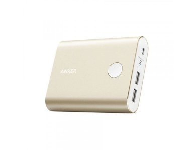 Anker PowerCore+ 13400 Power Bank 13.400mAh, Golden