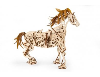 Ugears Μηχανικό Άλογο Ξύλινο Μηχανικό 3D Παζλ