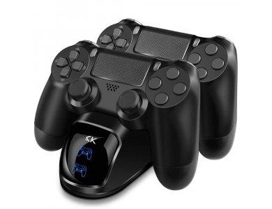 Sako διπλή βάση φόρτισης controller Sony PS4