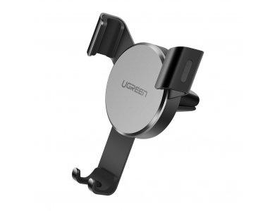 Ugreen Air Vent Mount Bracket for smartphone - 40907,  Black / Sliver