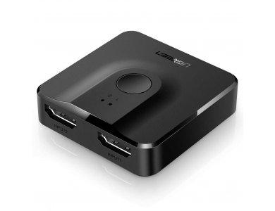 Ugreen HDMI 2-1 Switch/Splitter 4K Bidirectional - 50966