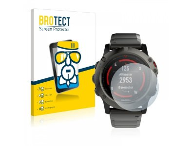 Brotect Garmin fenix 5X (51 mm) AirGlass Glass Screen Protector