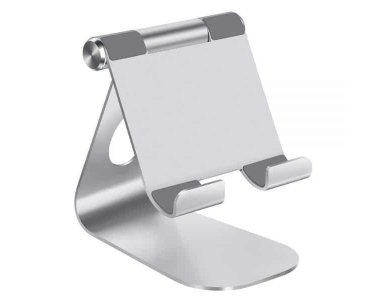 "Lamicall S1 Βάση/Stand Tablet Ρυθμιζόμενη 270° για συσκευές 5""-13"", Ασημί"