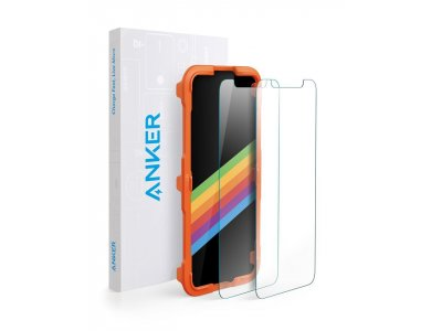 Anker KARAPAX Tempered Screen Protector for iPhone X [2 Pack]