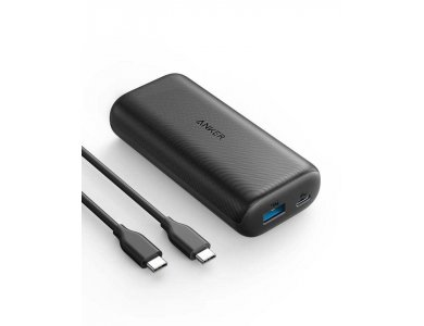 Anker PowerCore 10000 PD USB-C Power Bank 10.000mAh Power Delivery - A1236HZ1, Μαύρο