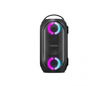 Anker Soundcore Rave Mini, Φορητό Αδιάβροχο Bluetooth Ηχείο 80W με LED & Partycast - A3390G11, Mαύρο