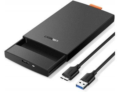 "Ugreen External Hard Drive Enclosure USB 3.0 to SATA Adapter, Θήκη για 2.5"" SATA Εξωτερικούς Σκληρούς δίσκους - 60353"