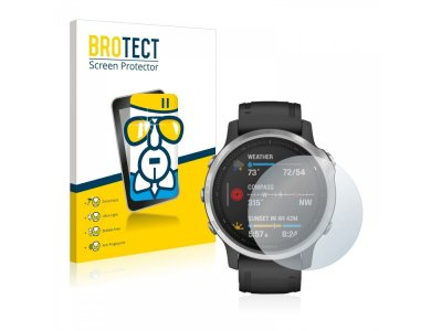 Brotect Garmin fenix 6S AirGlass Glass Screen Protector - 2737166