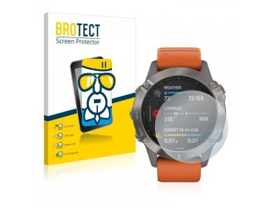 Brotect Garmin Fenix 6 Pro AirGlass Glass Screen Protector για Οθόνη - 2736560