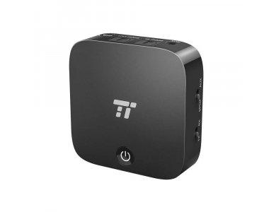 TaoTronics TT-BA09 Bluetooth 5.0 2-in1 Transmitter/Receiver, Digital Optical TOSLINK & 3.5mm Wireless Audio Adapter, aptX