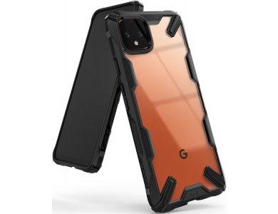 Ringke Fusion X Google Pixel 4 XL Tough Case, Black
