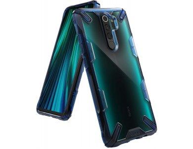 Ringke Fusion X Xiaomi Redmi Note 8 Pro case, Space Blue