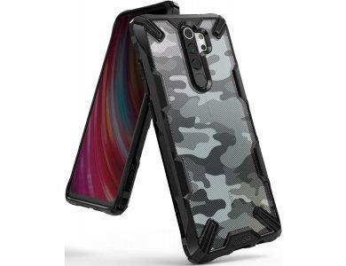 Ringke Fusion X Xiaomi Redmi Note 8 Pro Case, Camo Black