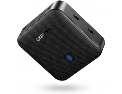 Ugreen Bluetooth 5.0 2-in1 Transmitter/Receiver, Digital Optical TOSLINK & 3.5mm Wireless Audio Adapter, aptX - 70158
