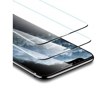 ESR iPhone 11 Pro Max / Xs Max Tempered Glass 3D Full-Coverage με Installation frame, Σετ των 2