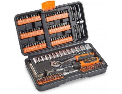 VonHaus Σετ Εργαλειοθήκης Με Εργαλεία & Καστάνια 130τμχ - 15/179