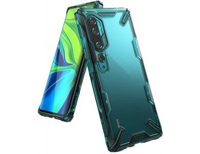 Ringke Fusion X Xiaomi MI Note 10 / Note 10 Pro Θήκη, Turquoise Green