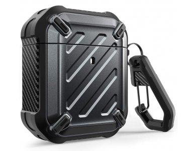Supcase AirPods (1 / 2) Unicorn Beetle Pro Rugged Case, black