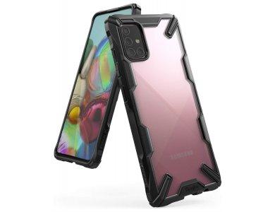 Ringke Fusion X Samsung Galaxy A71 Case, Black