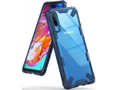 Ringke Fusion X Galaxy A70 Θήκη, Space Blue