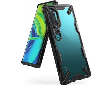 Ringke Fusion X Xiaomi MI Note 10 / Note 10 Pro Θήκη, Μαύρη