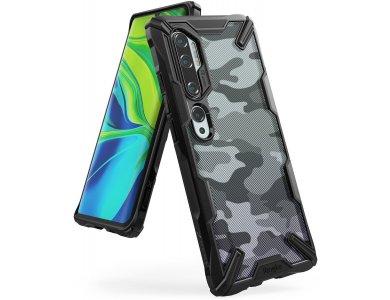 Ringke Fusion X Xiaomi MI Note 10 / Note 10 Pro Θήκη, Camo Black