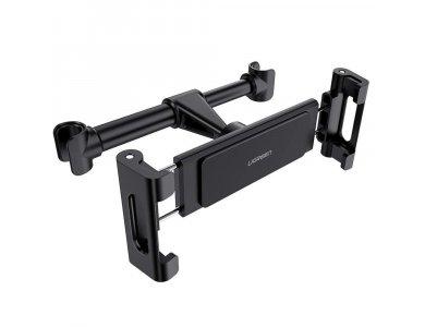 """Ugreen Tablet Mount, tablet mount for car seat headrest, for devices 4.7""""-12.9"""", Black - 60108"""