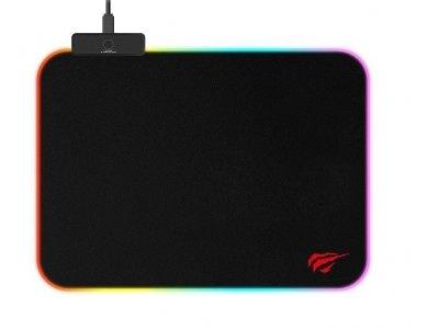Havit HV-MP901 L Gaming Mouse Pad (36x27cm) with RGB LED, Black