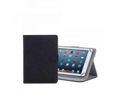 "Rivacase 3017 Flip Cover Tablet case 9-10.1"" Universal, Black"
