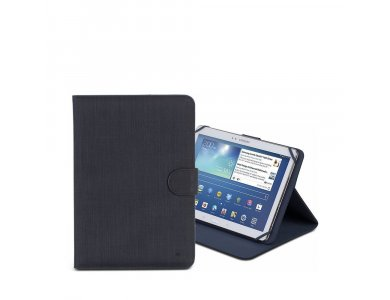 """Rivacase 3317 Flip Cover/Stand case for Tablet up to 10.1"""" Universal, Black"""