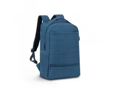 """Rivacase Biscayne 8365 Backpack / Τσάντα Laptop για Laptop έως 17.3"""", Μπλε"""